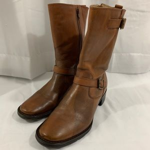 Bass Rustic Brown Moto Boot